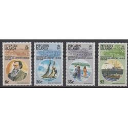 Pitcairn - 1986 - Nb 275/278