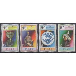 Fiji - 1996 - Nb 779/782 - Philately - Art