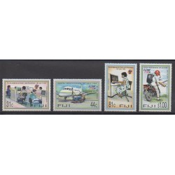 Fiji - 1996 - Nb 787/790 - Postal Service - Telecommunications