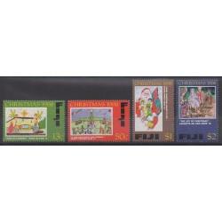 Fiji - 1998 - Nb 856/859 - Christmas
