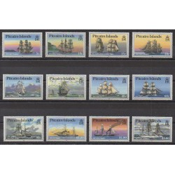 Pitcairn - 1988 - Nb 297/308 - Boats