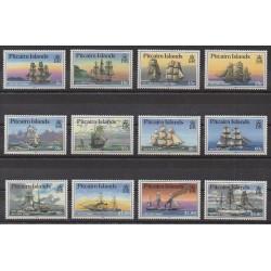 Pitcairn - 1988 - No 297/308 - Navigation