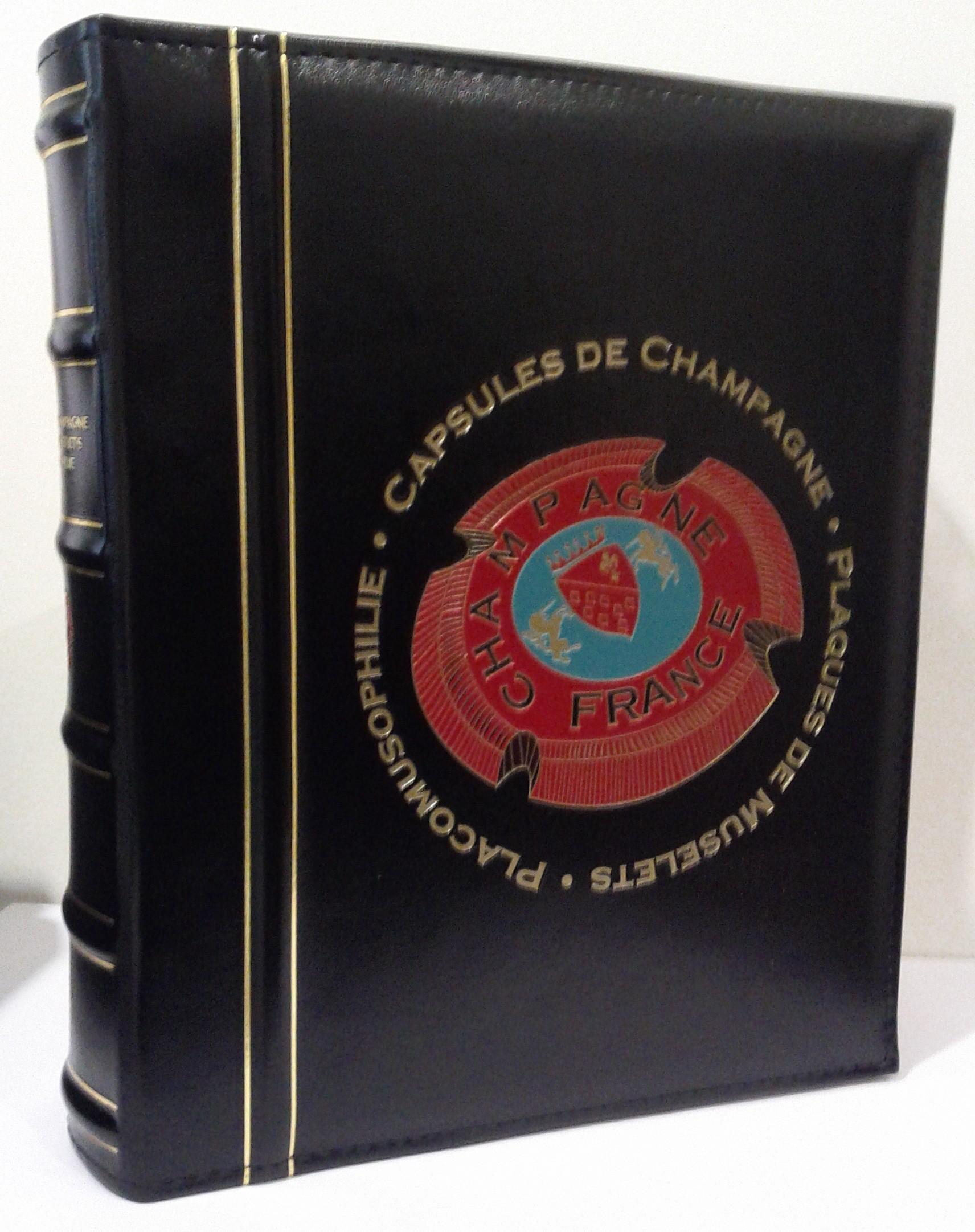 Album Avec Boitier Pour Le Classement De Vos Capsules De Muselets De Champagne