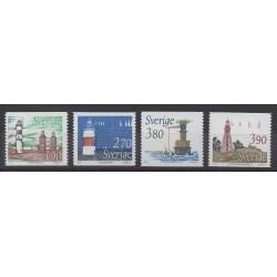Sweden - 1989 - Nb 1508/1511 - Lighthouses