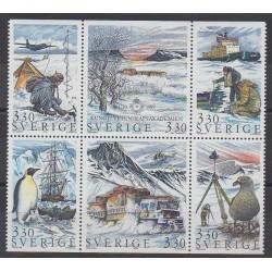 Suède - 1989 - No 1535/1540 - Polaire