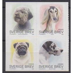 Suède - 2008 - No 2600/2603 - Chiens