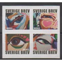 Suède - 2008 - No 2611/2614 - Peinture