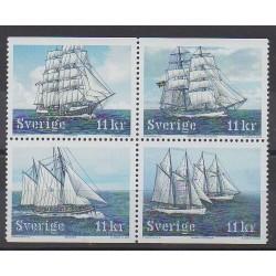 Suède - 2008 - No 2623/2626 - Navigation