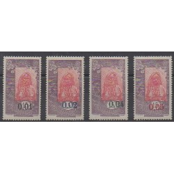 Somali Coast - 1922 - Nb 108/111