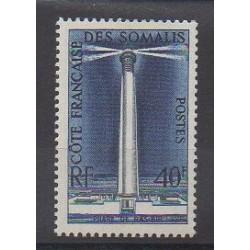 Somali Coast - 1956 - Nb 286 - Lighthouses