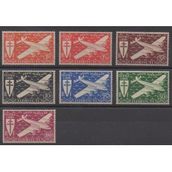 Somali Coast - 1943 - Nb PA1/PA7