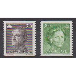 Sweden - 1987 - Nb 1403/1404 - Celebrities