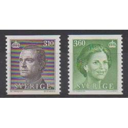 Suède - 1987 - No 1403/1404 - Célébrités