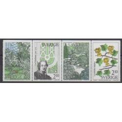 Suède - 1987 - No 1432/1435 - Parcs et jardins