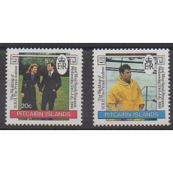 Pitcairn - 1986 - Nb 273/274 - Royalty