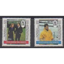 Pitcairn - 1986 - No 273/274 - Royauté - Principauté