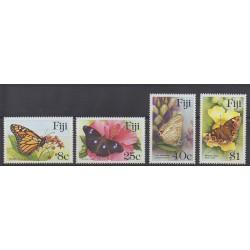 Fidji - 1985 - No 515/518 - Insectes