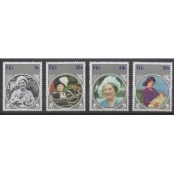 Fidji - 1985 - No 523/526 - Royauté - Principauté