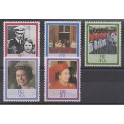 Fidji - 1986 - No 535/539 - Royauté - Principauté