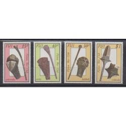 Fidji - 1986 - No 554/557 - Artisanat ou métiers