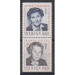 Sweden - 1996 - Nb 1925/1926 - Celebrities - Europa