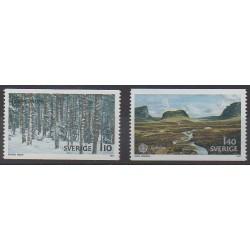 Sweden - 1977 - Nb 970/971 - Sights - Europa
