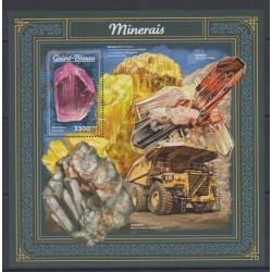 Guinea-Bissau - 2018 - Nb BF1370 - Minerals - Gems