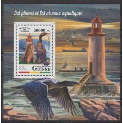 Guinée - 2018 - No BF2142 - Phares - Oiseaux