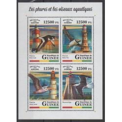 Guinea - 2018 - Nb 9116/9119 - Lighthouses - Birds