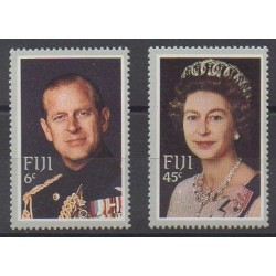 Fiji - 1982 - Nb 469/470 - Royalty