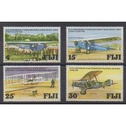 Fidji - 1978 - No 377/380 - Aviation