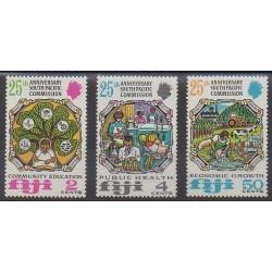 Fiji - 1972 - Nb 302/304 - Various Historics Themes