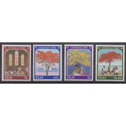 Fidji - 1989 - No 611/614 - Noël