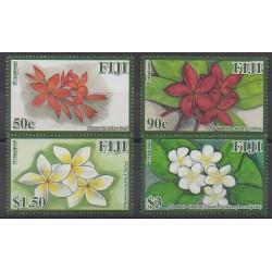 Fiji - 2011 - Nb 1237/1240 - Flowers