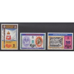 Fiji - 1974 - Nb 334/336 - Various Historics Themes