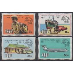 Fidji - 1974 - No 327/330 - Service postal