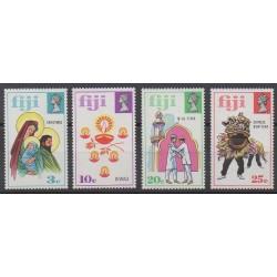 Fiji - 1973 - Nb 317/320