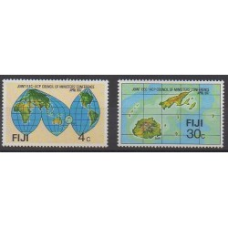 Fidji - 1977 - No 354/355