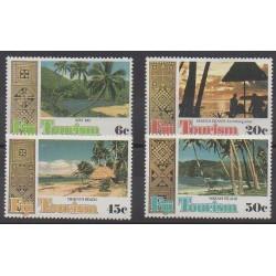 Fiji - 1980 - Nb 417/420 - Tourism