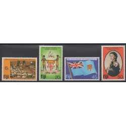 Fiji - 1980 - Nb 421/424 - Various Historics Themes