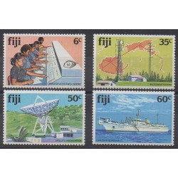 Fiji - 1981 - Nb 441/444 - Telecommunications