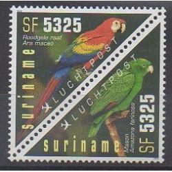 Surinam - 2002 - No PA112/PA113 - Oiseaux
