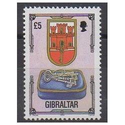 Gibraltar - 1994 - Nb 703 - Coats of arms