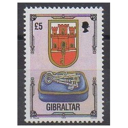 Gibraltar - 1994 - No 703 - Armoiries