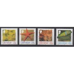 Gibraltar - 1994 - Nb 704/707 - Sea animals