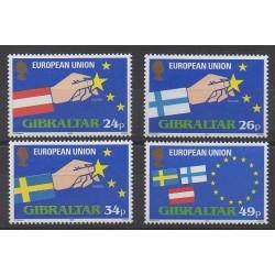 Gibraltar - 1995 - Nb 715/718 - Europe