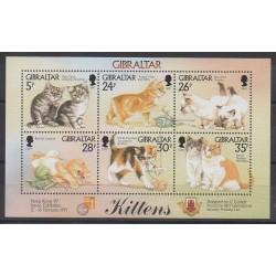 Gibraltar - 1997 - No 792/797 - Chats