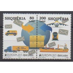 Albanie - 2013 - No 3108/3109 - Service postal - Europa