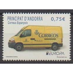 Andorre espagnol - 2013 - No 391 - Service postal - Europa