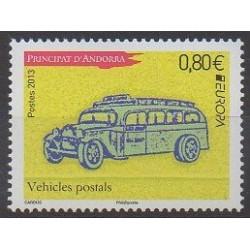 Andorre - 2013 - No 739 - Service postal - Europa